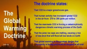 Link scene to video 'Man-made Global Warming' Series: The Global Warming Doctrine.