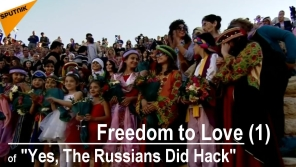 Link scene to video series: Yes, the Russian did Hack, part 1: Freedom to Love.