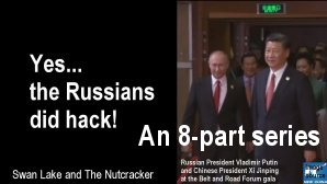 Link scene to video series: Yes, the Russian did Hack: Introduction.