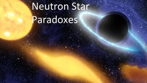 Link scene to video series: Black Holes Under the Stars, part 7: Neutron Star Paradoxes.