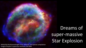 Link scene to video series: Black Holes Under the Stars, part 10: Super-Nova Star Explosions?