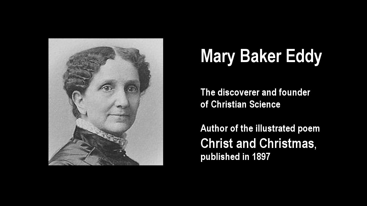 Large image for Mary Baker Eddy's poem Christ and Christmas scene 2