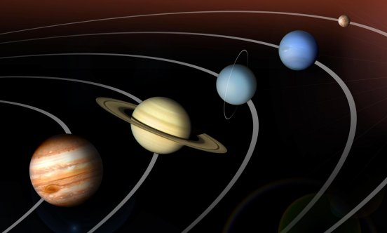 The Outer Planets of Solar System in Order - Pics about space