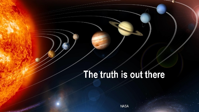 Change Part 2 >> The Truth is out there